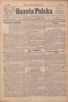 Gazeta Polska: codzienne pismo polsko-katolickie dla wszystkich stanów 1925.01.27 R.29 Nr21