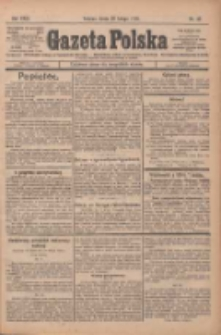 Gazeta Polska: codzienne pismo polsko-katolickie dla wszystkich stanów 1925.02.25 R.29 Nr45