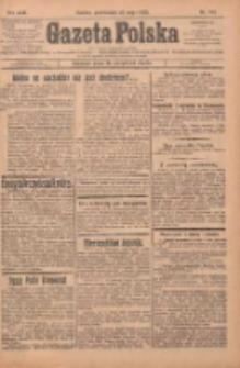 Gazeta Polska: codzienne pismo polsko-katolickie dla wszystkich stanów 1925.05.25 R.29 Nr119