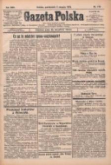 Gazeta Polska: codzienne pismo polsko-katolickie dla wszystkich stanów 1925.08.03 R.29 Nr176