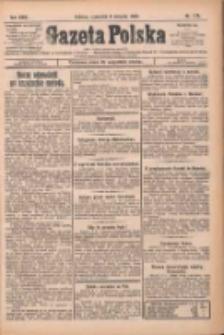 Gazeta Polska: codzienne pismo polsko-katolickie dla wszystkich stanów 1925.08.06 R.29 Nr179