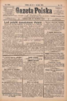 Gazeta Polska: codzienne pismo polsko-katolickie dla wszystkich stanów 1925.08.21 R.29 Nr191
