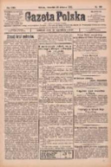 Gazeta Polska: codzienne pismo polsko-katolickie dla wszystkich stanów 1925.08.27 R.29 Nr196