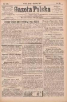 Gazeta Polska: codzienne pismo polsko-katolickie dla wszystkich stanów 1925.09.02 R.29 Nr201