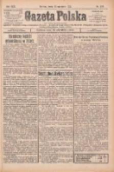 Gazeta Polska: codzienne pismo polsko-katolickie dla wszystkich stanów 1925.09.23 R.29 Nr219