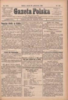 Gazeta Polska: codzienne pismo polsko-katolickie dla wszystkich stanów 1925.10.20 R.29 Nr242