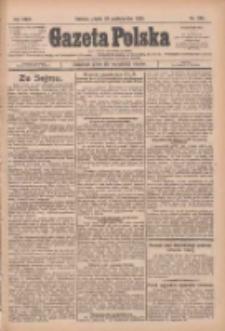 Gazeta Polska: codzienne pismo polsko-katolickie dla wszystkich stanów 1925.10.23 R.29 Nr245