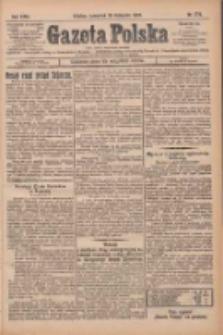 Gazeta Polska: codzienne pismo polsko-katolickie dla wszystkich stanów 1925.11.26 R.29 Nr274