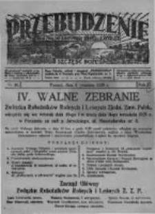 Przebudzenie: organ Związku Robotników Rolnych i Leśnych ZZP. 1929.09.05 R.11 Nr36
