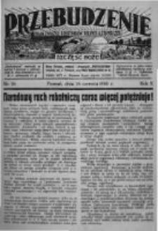 Przebudzenie: organ Związku Robotników Rolnych i Leśnych ZZP. 1930.06.26 R.12 Nr26