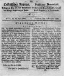 Oeffentlicher Anzeiger. 1848.04.26 Nro.17