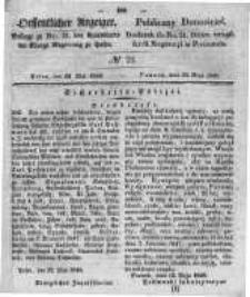 Oeffentlicher Anzeiger. 1848.05.24 Nro.21
