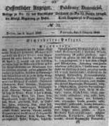 Oeffentlicher Anzeiger. 1848.08.09 Nro.32