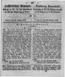 Oeffentlicher Anzeiger. 1848.08.23 Nro.34