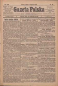 Gazeta Polska: codzienne pismo polsko-katolickie dla wszystkich stanów 1927.01.21 R.31 Nr16
