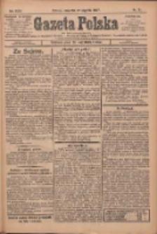 Gazeta Polska: codzienne pismo polsko-katolickie dla wszystkich stanów 1927.01.27 R.31 Nr21