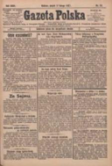 Gazeta Polska: codzienne pismo polsko-katolickie dla wszystkich stanów 1927.02.11 R.31 Nr33