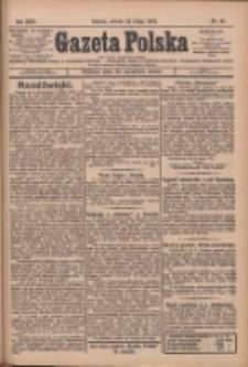 Gazeta Polska: codzienne pismo polsko-katolickie dla wszystkich stanów 1927.02.22 R.31 Nr42