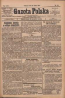 Gazeta Polska: codzienne pismo polsko-katolickie dla wszystkich stanów 1927.02.23 R.31 Nr43