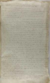 Kopia listu Samuela Łaskiego do króla Zygmunta III, Szynwałd 28.04.1601