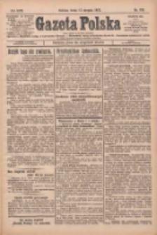 Gazeta Polska: codzienne pismo polsko-katolickie dla wszystkich stanów 1927.08.17 R.31 Nr186