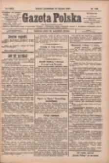 Gazeta Polska: codzienne pismo polsko-katolickie dla wszystkich stanów 1927.08.22 R.31 Nr190