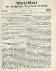 Amtsblatt der Königlichen Regierung zu Posen. 1900.06.05 Nro.23