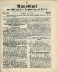 Amtsblatt der Königlichen Regierung zu Posen. 1900.10.02 Nro.40