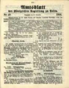 Amtsblatt der Königlichen Regierung zu Posen. 1900.11.27 Nro.48