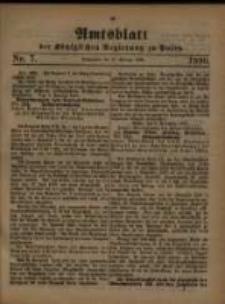 Amtsblatt der Königlichen Regierung zu Posen. 1880.02.17 Nro.7