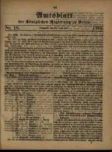 Amtsblatt der Königlichen Regierung zu Posen. 1880.04.20 Nro.16