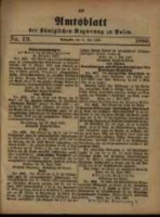 Amtsblatt der Königlichen Regierung zu Posen. 1880.05.11 Nro.19