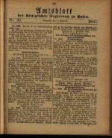 Amtsblatt der Königlichen Regierung zu Posen. 1880.09.14 Nro.37