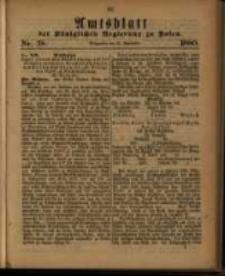 Amtsblatt der Königlichen Regierung zu Posen. 1880.09.21 Nro.38