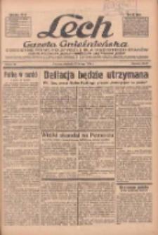 """Lech.Gazeta Gnieźnieńska: codzienne pismo polityczne dla wszystkich stanów. Dodatki: tygodniowy """"Lechita"""" i powieściowy oraz dwutygodnik """"Leszek"""" 1936.02.23 R.36 Nr45"""