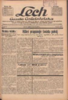"""Lech.Gazeta Gnieźnieńska: codzienne pismo polityczne dla wszystkich stanów. Dodatki: tygodniowy """"Lechita"""" i powieściowy oraz dwutygodnik """"Leszek"""" 1936.04.03 R.36 Nr79"""