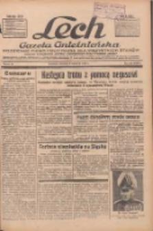 """Lech.Gazeta Gnieźnieńska: codzienne pismo polityczne dla wszystkich stanów. Dodatki: tygodniowy """"Lechita"""" i powieściowy oraz dwutygodnik """"Leszek"""" 1936.04.09 R.36 Nr84"""