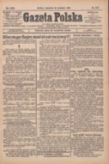 Gazeta Polska: codzienne pismo polsko-katolickie dla wszystkich stanów 1927.09.22 R.31 Nr217