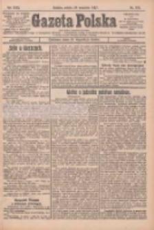 Gazeta Polska: codzienne pismo polsko-katolickie dla wszystkich stanów 1927.09.24 R.31 Nr219
