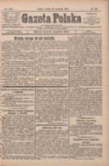 Gazeta Polska: codzienne pismo polsko-katolickie dla wszystkich stanów 1927.09.27 R.31 Nr221