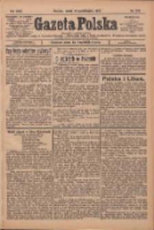 Gazeta Polska: codzienne pismo polsko-katolickie dla wszystkich stanów 1927.10.22 R.31 Nr243