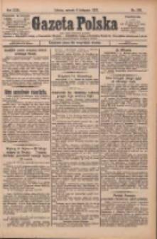 Gazeta Polska: codzienne pismo polsko-katolickie dla wszystkich stanów 1927.11.08 R.31 Nr256