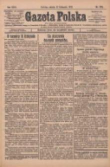 Gazeta Polska: codzienne pismo polsko-katolickie dla wszystkich stanów 1927.11.12 R.31 Nr260