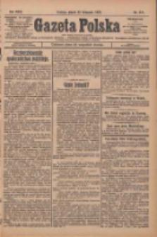 Gazeta Polska: codzienne pismo polsko-katolickie dla wszystkich stanów 1927.11.25 R.31 Nr271