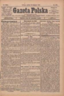 Gazeta Polska: codzienne pismo polsko-katolickie dla wszystkich stanów 1927.11.26 R.31 Nr272