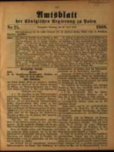 Amtsblatt der Königlichen Regierung zu Posen. 1908.06.23 Nro.25