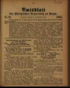 Amtsblatt der Königlichen Regierung zu Posen. 1908.09.15 Nro.37