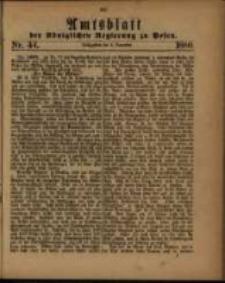 Amtsblatt der Königlichen Regierung zu Posen. 1880.11.02 Nro.44