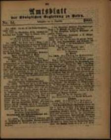 Amtsblatt der Königlichen Regierung zu Posen. 1880.12.21 Nro.51