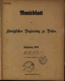 Amtsblatt der Königlichen Regierung zu Posen. 1909.01.05 Nro1